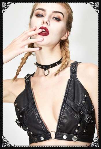 Devil Fashion Punk Suzie Bralette