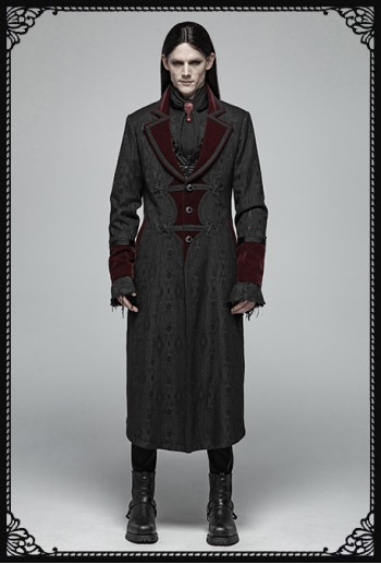 Punk Rave Dark Master Coat