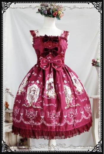 Fairy tale Lolita dress-JSK(RD)