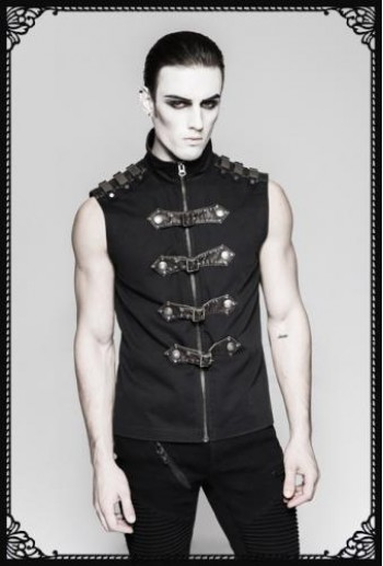 Punk Rave Armour Sleeveless Shirt