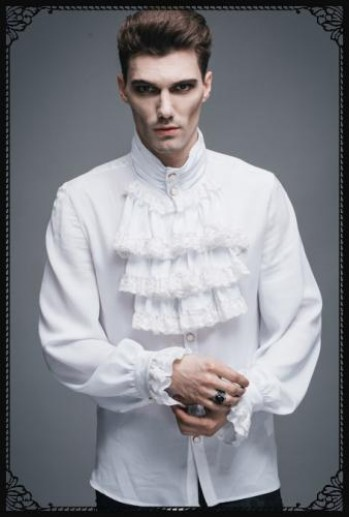 Restless'N'Wild Gothic noble shirt(WH)