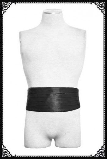 Punk Rave men's tuxedo belt