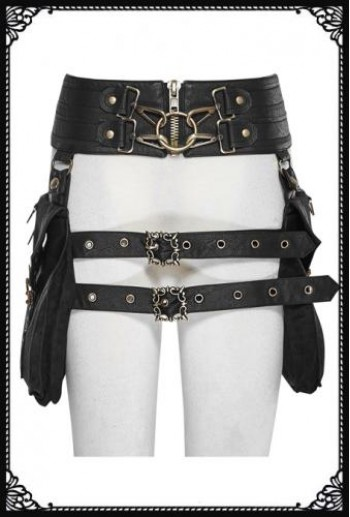 Punk Rave Steampunk Waist Bag