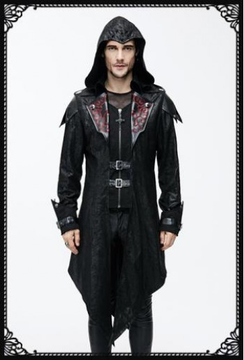 Devil Fashion Dance Macabre Jacket in Red