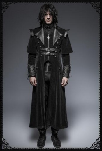Punk-Rave Maleficent Coat(BK)