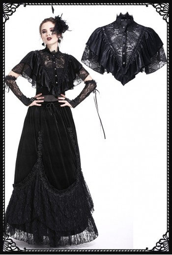 Dark In Love Moira Gothic Shrug