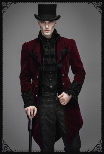 Devil Fashion Vladimir Gothic Coat(RD)