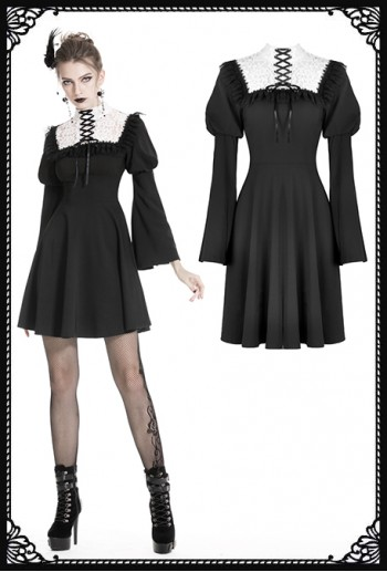 Dark in Love Tarerd Dress