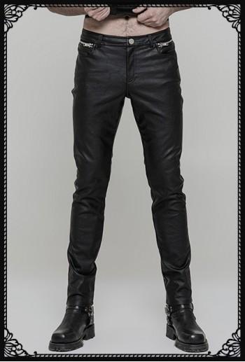 Punk Rave Malus PU trousers
