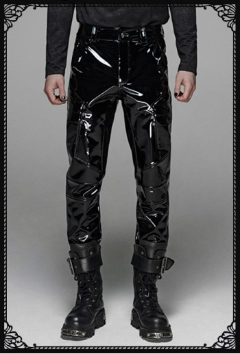 Punk Rave Military Fetish Trousers
