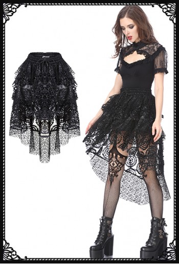 Dark In Love Freya Lacy Skirt