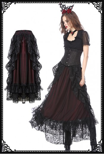 Dark in Love Gothica Skirt