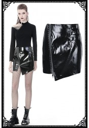 Dark In Love Selena PVC Skirt