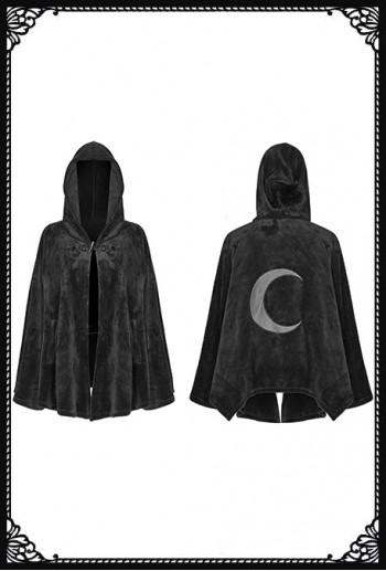Punk Rave Velvet Moon Cloak