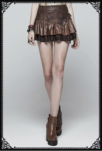 Punk Rave Queen Of Pirates Skirt(CO)