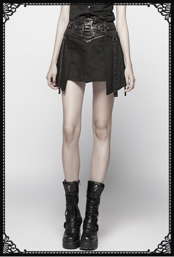 Punk Rave Atika Girdle Skirt