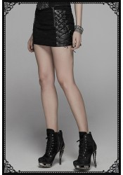Punk Rave Rock 'N' Roll Skirt