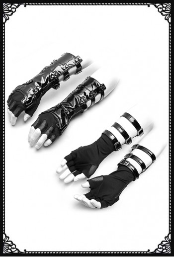 Punk Rave Ammar Futuristic Gloves