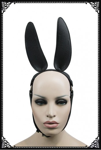 Rebel Bunny Mask/Headdress(BK)