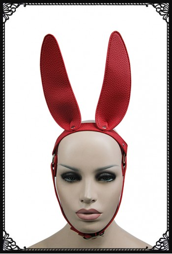 Rebel Bunny Mask/Headdress(RD)