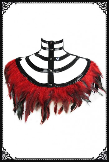 Queen Of The Future Feather Shrug(RD)