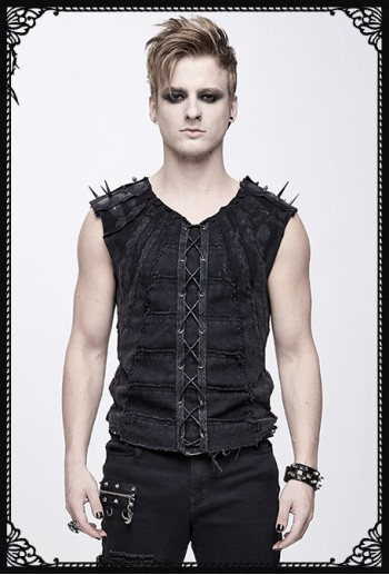 Devil Fashion Somi Spike Vest
