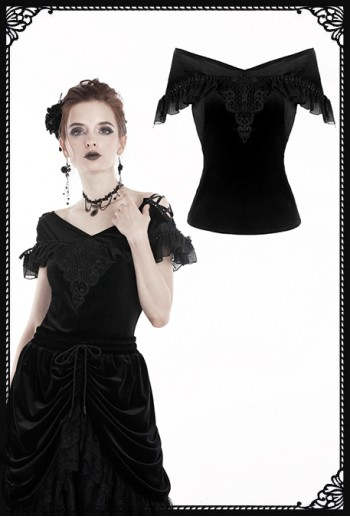Dark in Love Gahiciah Blouse