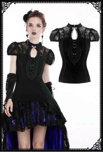 Dark in Love Desireh Blouse
