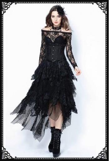 Dark in Love Pauline Long Skirt