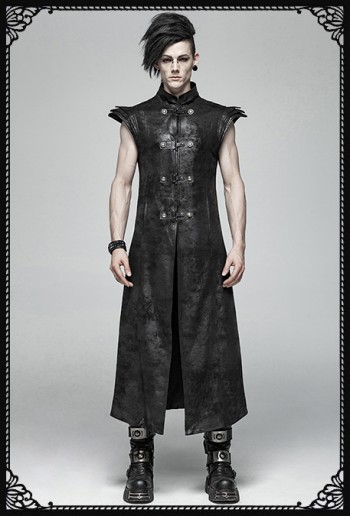Punk Rave Darfert Armor Long Vest