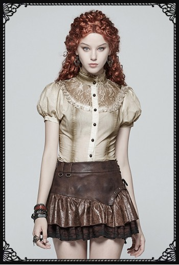 Punk Rave Marie Steampunk Shirt/ Top