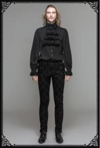 DevilFashion Gothic Brocade Pants