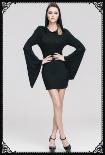 Devil Fashion Witch dress(BK)