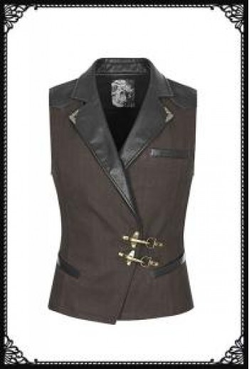 Punk Rave Formal Waistcoat (CO)