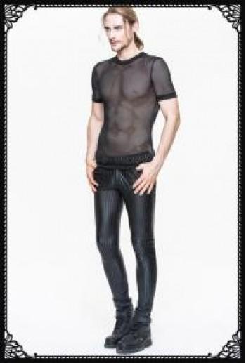 Devil Fashion Stripe Skinny Pants