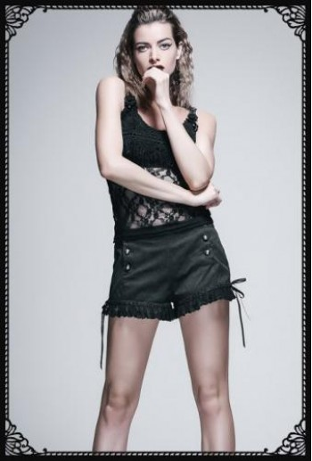 Devil Fashion Bud Silk Shorts