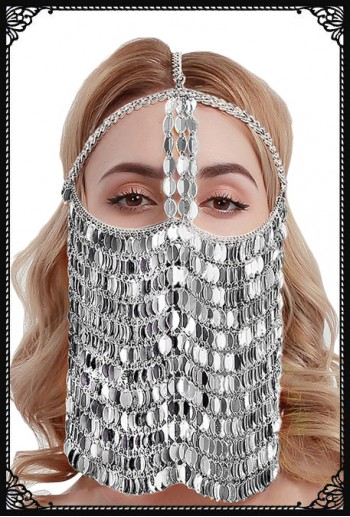 Belly Dancer Face Veil