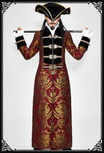 Devil Fashion Medieval Pirate Coat