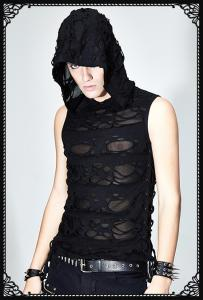 Devil Fashion Langur hooded vest top
