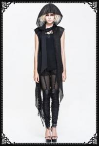 DevilFashion Sleeveless Cardigan