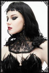 Eva Lady Natalia Collar Shrug